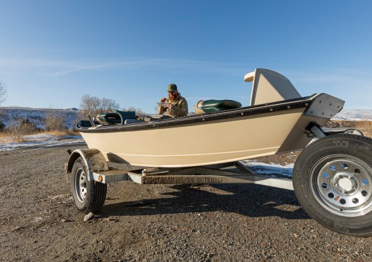 New Skiff Boat