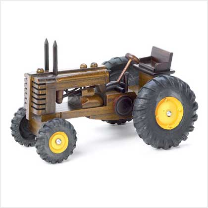 Wood Toy Tractor Wheels