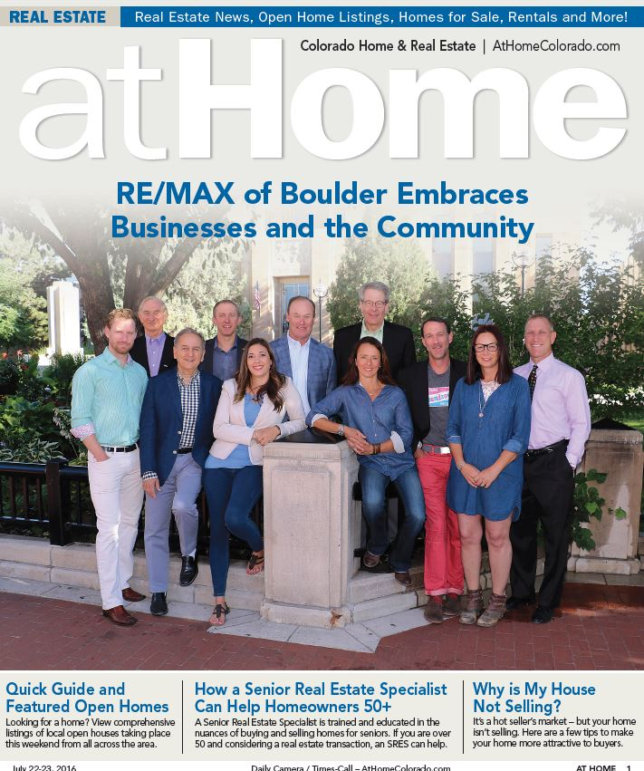 RE/MAX of Boulder Embraces Businesses and the Community !