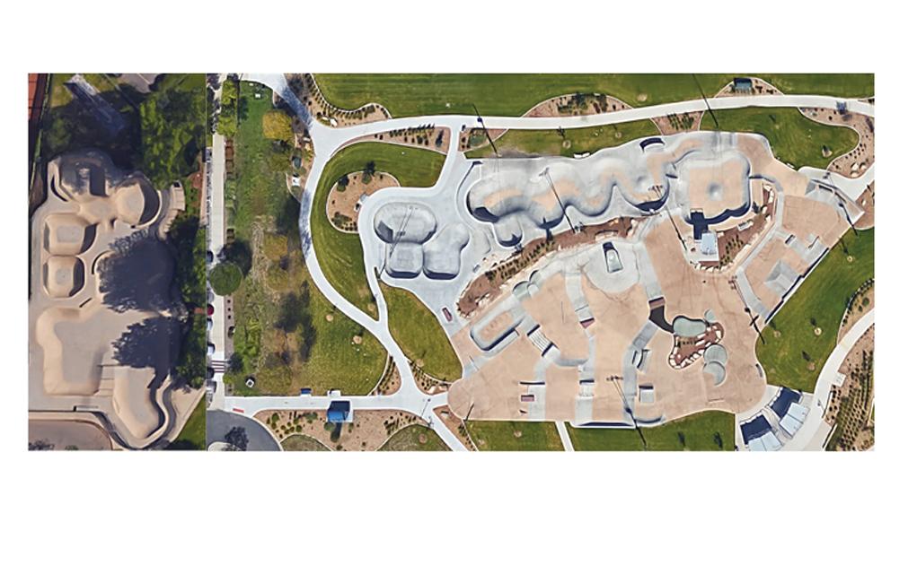 The new skate park in Arvada is three times bigger than Boulder's Scott Carpenter Park.