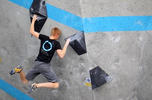 Deutscher Bouldercup Simulation Außenwand Muc Ost 2015 (2)