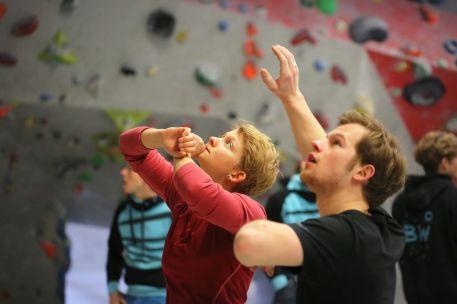 Boulderwelt Athletenteam Training Regensburg
