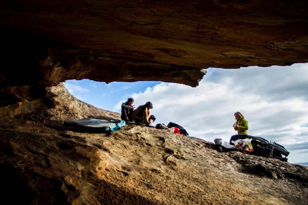Isi aus unserem Boulderwelt Athletenteam ist in den Grampians in Australien unterwegs und zieht einige schwere Boulder!