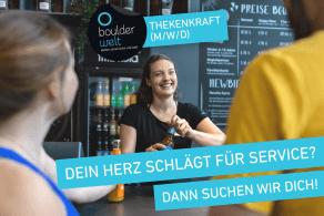 Boulderwelt Dortmund sucht Thekenkraft