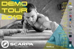 Am 14.11.19 ist die Scarpa Demo Tour zu Gast in der Boulderwelt Dortmund. Ihr könnt 13 verschiedene Kletterschuhe testen.