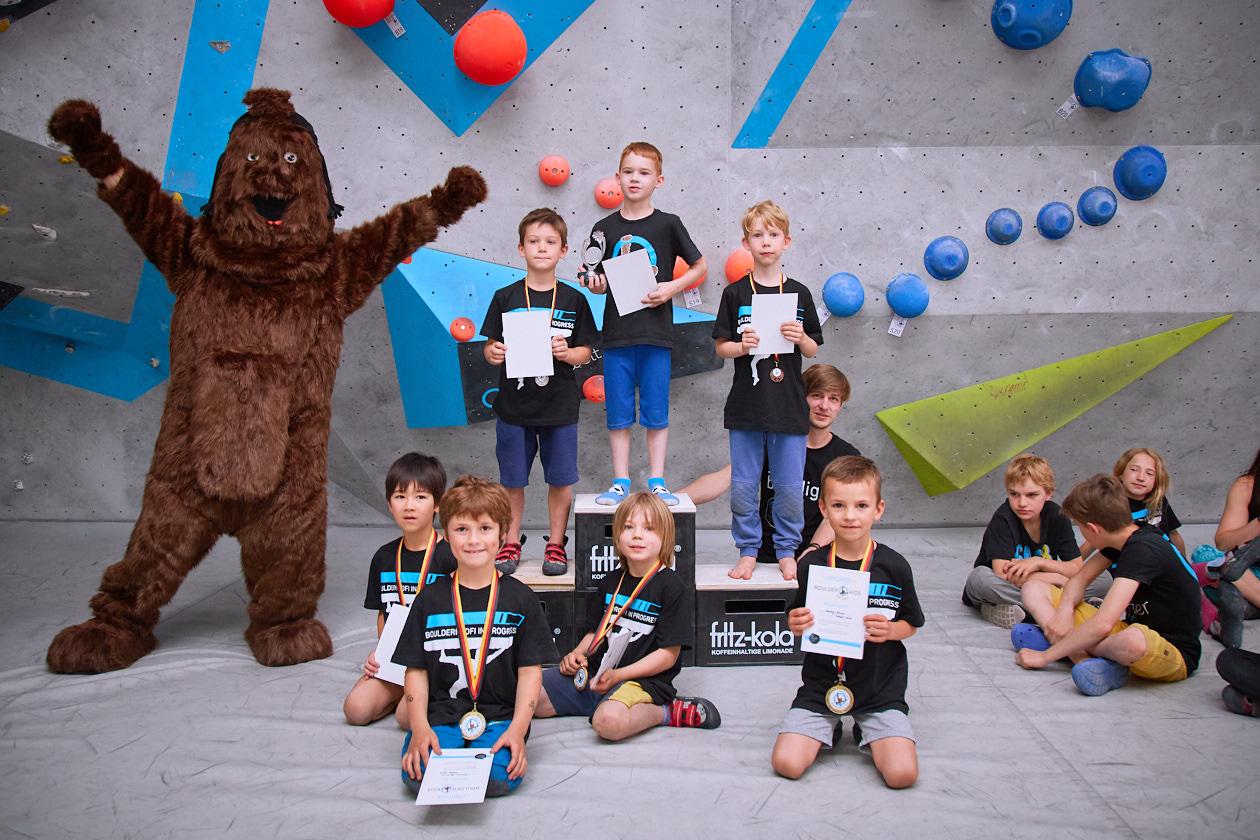 Impressions vom internen Boulderkids Cup in der Boulderwelt Frankfurt 2017