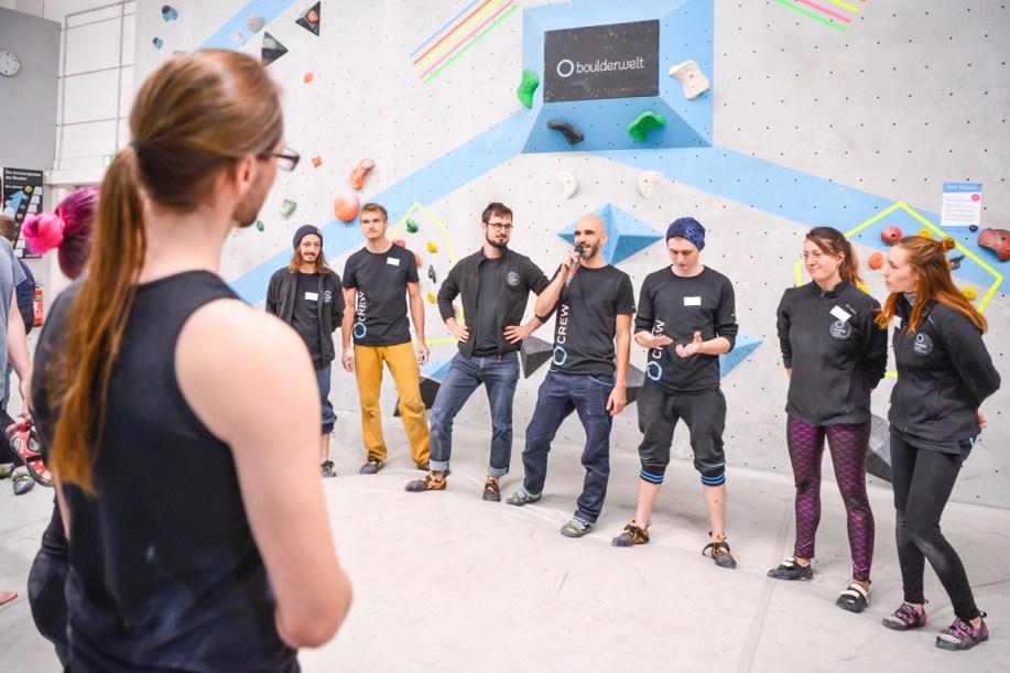 Tech Session Nr 4 2019 in der Boulderwelt Frankfurt