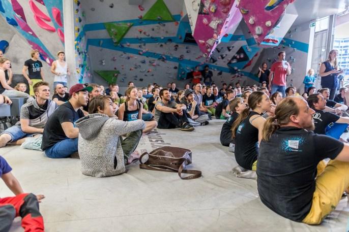 Big Fat Boulder Session BFBS 2017 Boulderwelt München Ost Spaßwettkampf Event Bouldern (41)