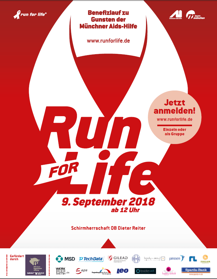 Run for Life Sponsoring Boulderwelt Soziales Engagement