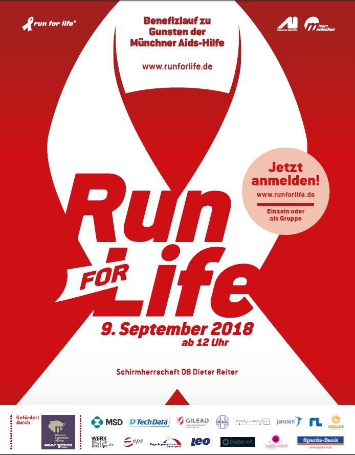 Run for Life Sponsoring Boulderwelt Soziales Engagement