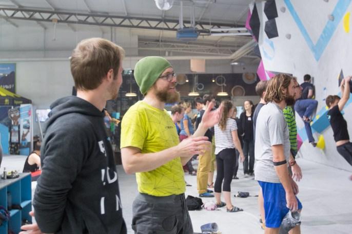 Tech Session 2018 in der Boulderwelt München Ost