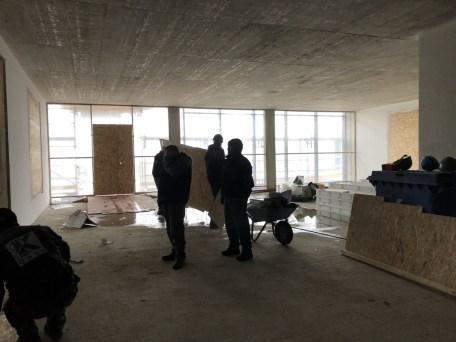 Bistrobereich im 3. Stock