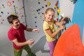 Neue Regelungen für das Bouldern mit Kindern ab dem 1.7.2019 in der Boulderwelt München Ost.