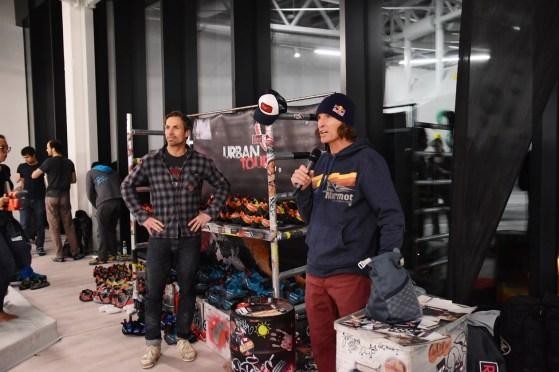 Tech Session am 22.02.20 in der Boulderwelt München Ost und Auftakt der Red Chili Urban Tour- An 6 Stationen konntet Ihr Euch die besten Tipps und Tricks unserer Crew holen und die neusten Red Chili Schuhe testen.