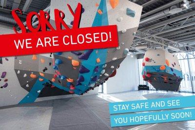Schließung der Boulderwelt auf unbestimmte Zeit ab 17.3. wegen Corona - sorry!