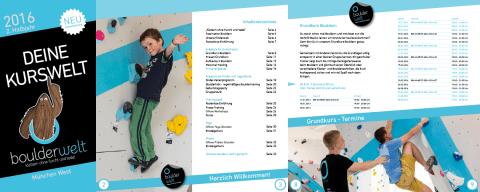 Kursbuch 2016 Boulderwelt München West