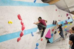 Routenbau Workshop Boulderwelt München mit Tonde Katiyo