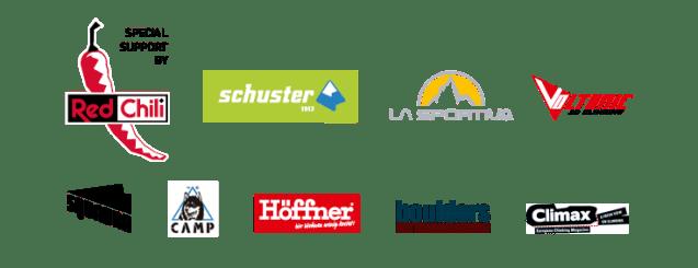 Komm zu unserem Boulder Game CATCH YA MATCH am 23.3.19 in der Boulderwelt München West. Das sind unsere Sponsoren.