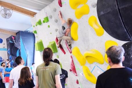 Unser Bouldergame Catch Ya Match ging in der Boulderwelt München in die zweite Runde