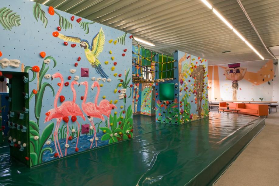 Kinderwelt Regensburg Dschungel Elternlounge Tiere