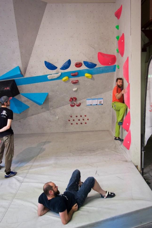 Tag der offenen Tür Boulderwelt Regensburg 2017
