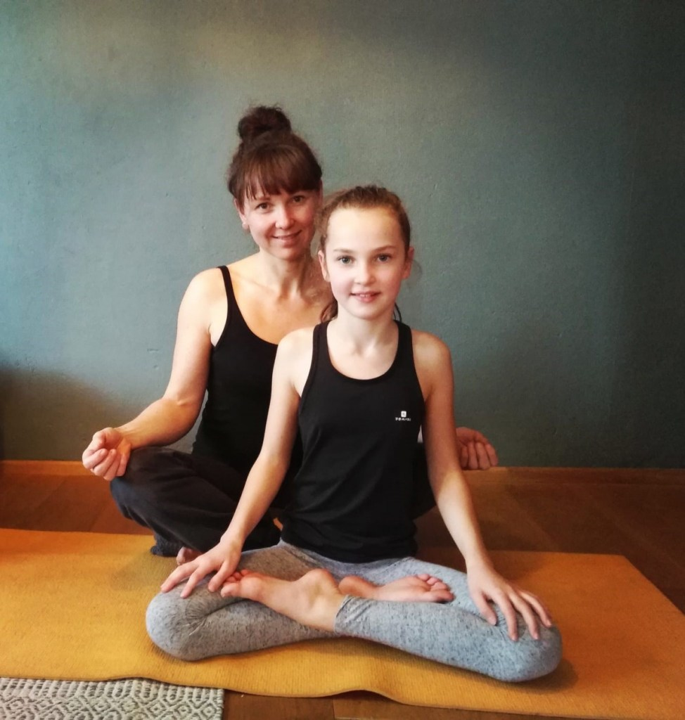 Yogalehrerin Andrea: Ygoakurse für Kinder