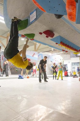 Gratis Techniken erlernen und von unserer Routenbau udn Trainer Crew coachen lassen bei der Tech Session in der Boulderwelt Regensburg