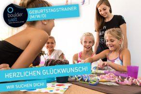 Die Boulderwelt sucht Trainer für Kindergeburtstage in Regensburg