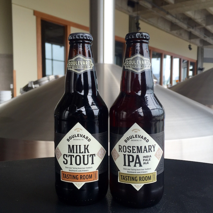 Boulevard Brewing CompanyMilk Stout And Rosemary IPA