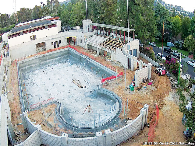 New Pool at Oxy to Open in the Fall Despite Setbacks
