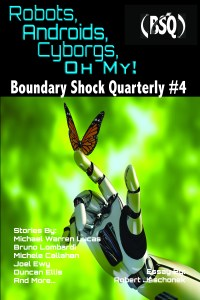 Book Cover: Robot, Androids, Cyborgs, Oh My!