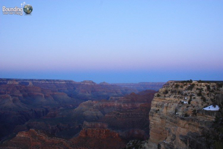 Sunset at Hopi Point in Grand Canyon National Park