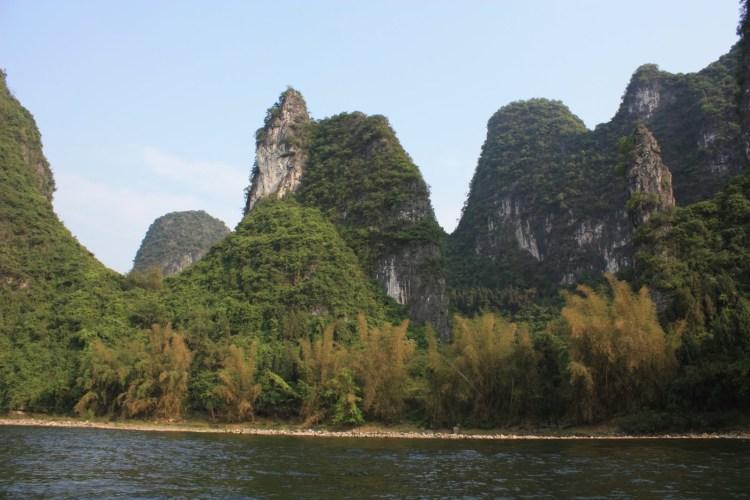 Hiking Along the Li River - Yangshuo - Karst Peaks