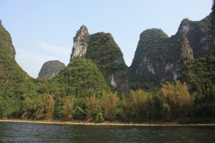 Hiking Along the Li River - Yangshuo - Karst Peaks