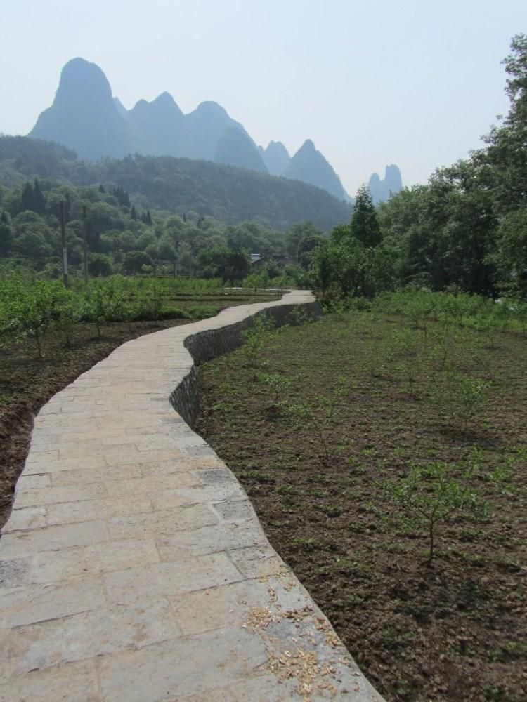 Hiking Along the Li River - Yangshuo - Pathway