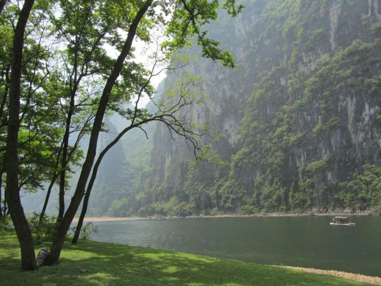 Hiking Along the Li River - Yangshuo - River