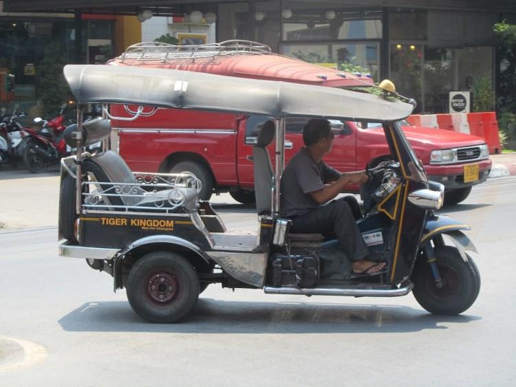 Impressions of Chiang Mai - Tuk Tuk