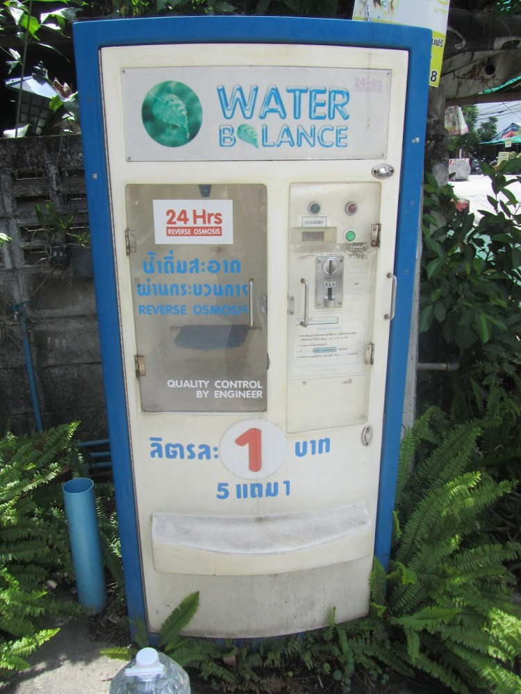 Water Filling Stations - Thailand - Station