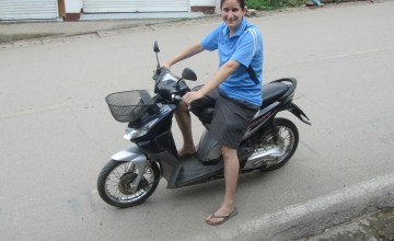 Renting a Motorbike for the First Time in Pai