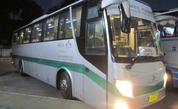 Green Bus - Chiang Mai to Chiang Rai