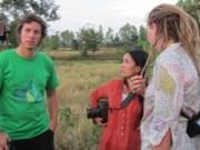 Matt and Chantelle talk with Lek
