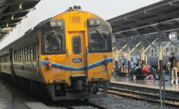 Northbound Train from Bangkok