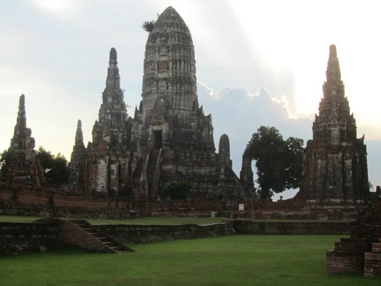 Ruins in Ayuthaya, Thailand