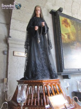 Statue of Woman in San Agustin Church Intramuros Manila