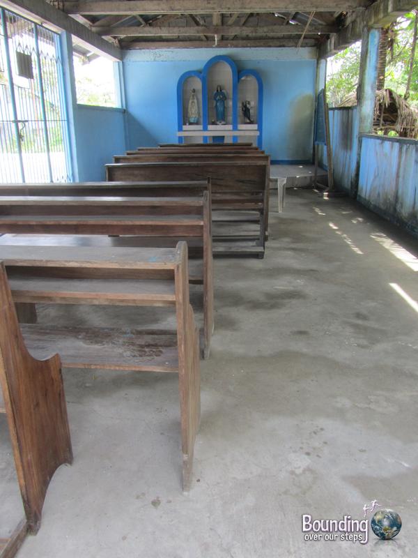 A closed church in Donsol