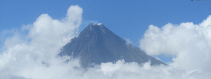 Mt. Mayon in Legazpi near the Donsol Whale Sharks