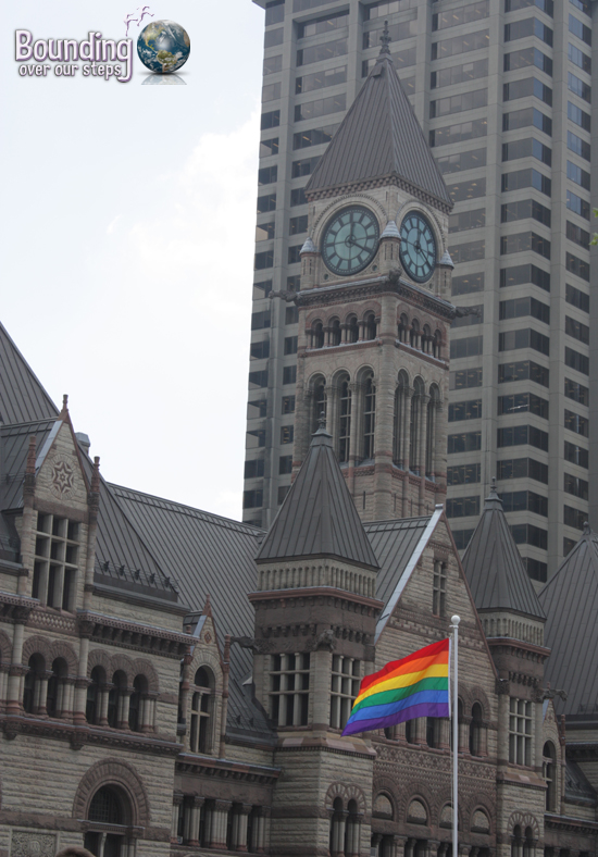 Toronto Gay Pride Flag Raising