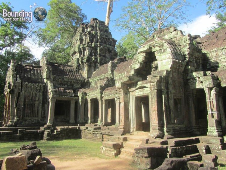 The ruins of Ta Prohm Temple in Angkor Wat, Cambodia