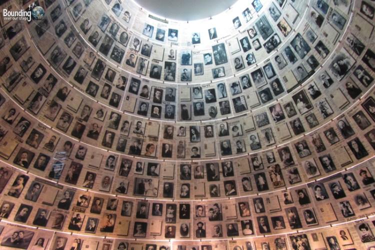 Hall of Names at Yad Vashem in Jerusaelm