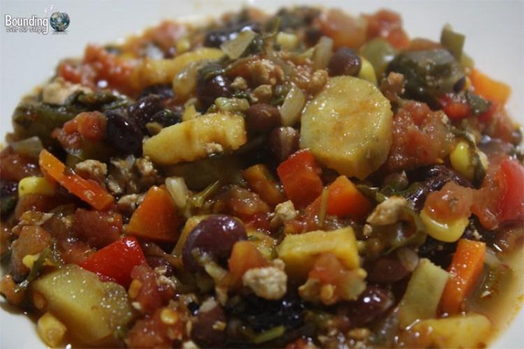 Vegan chili chock full of deliciousness!